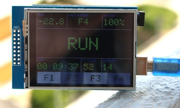 Arduino LCD Interface - TFT Display Elegoo