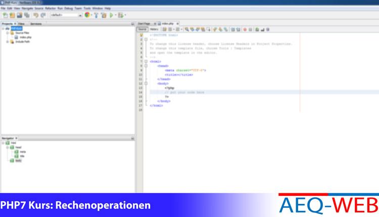 PHP7 Kurs - Mathematische Operationen