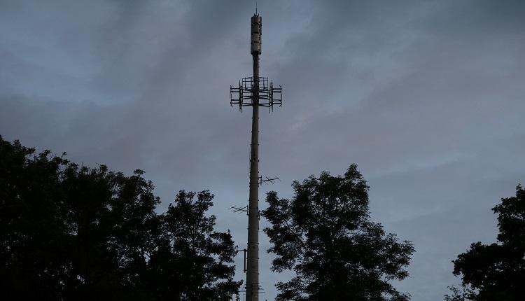 Sender Wien Himmelhof Mast und Antennen