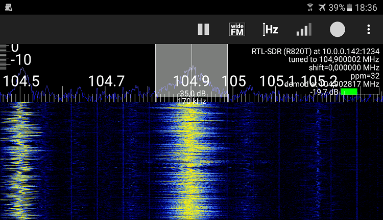 RTL SDR Android