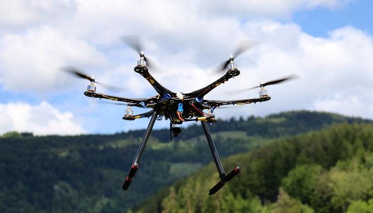 Hexacopter Eigenbau mit 2220 mAh 3s Lipo GPS und CC3D
