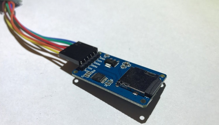 Arduino Datenlogger SD Karten Modul