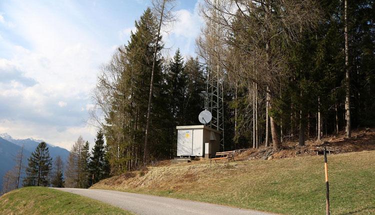 Sender Gmünd 1 in Kärnten - Schlossbichel