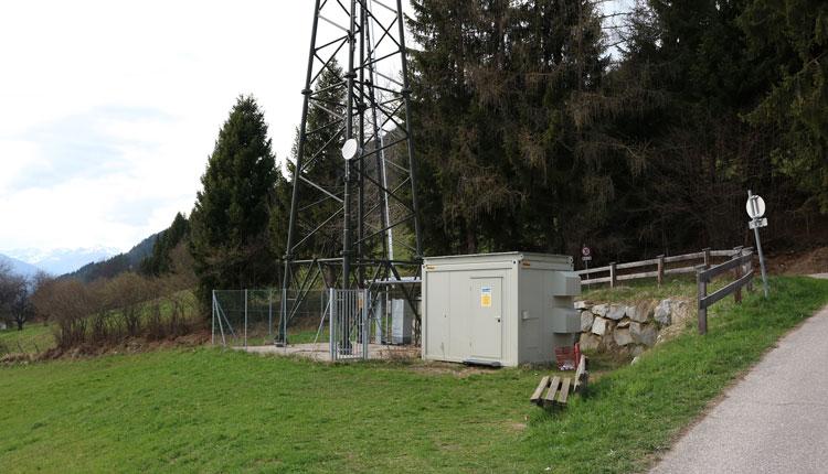 Sender Hühnersberg bei Spittal an der Drau