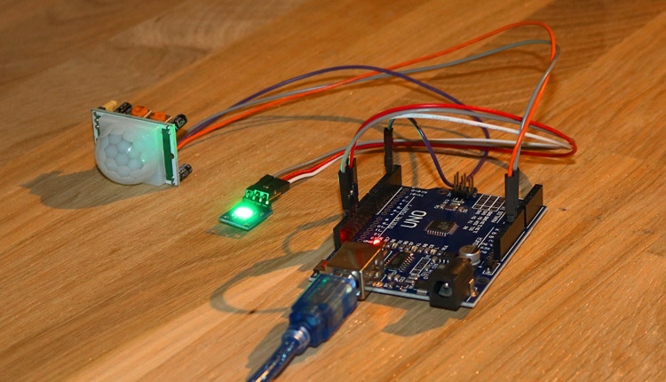 Arduino HC-SR501 Passive Infrared Motion Sensor