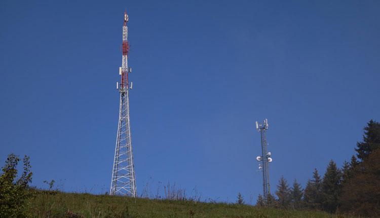 DVB-T und Radio Sender Brückel Lippekogel