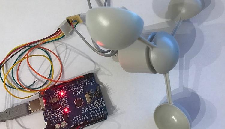 Arduino Anemometer - Windgeschwindikeit messen