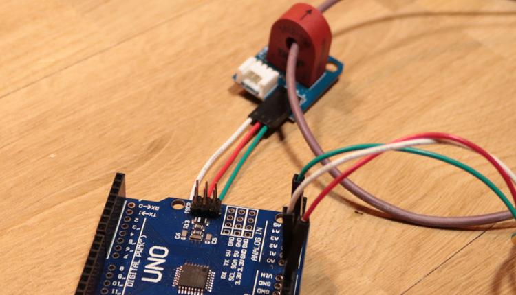 Arduino Current Sensor - Wechselstrom messen