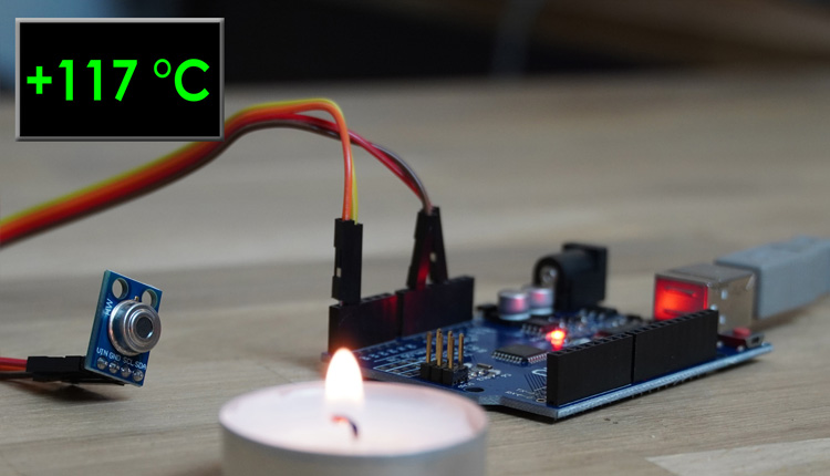 Arduino GY906 Temperatur Sensor Pyrometer