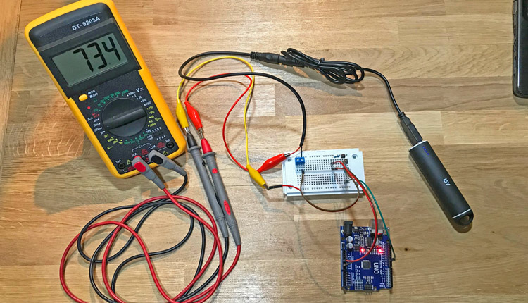 Arduino Powerbank Abschaltautomatik verhindern - Prevent Automatic Power Off