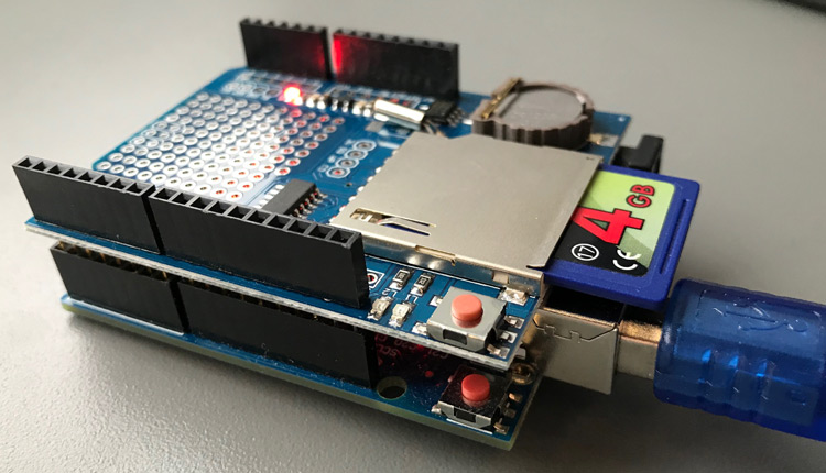 Arduino SD Datalogger Shield