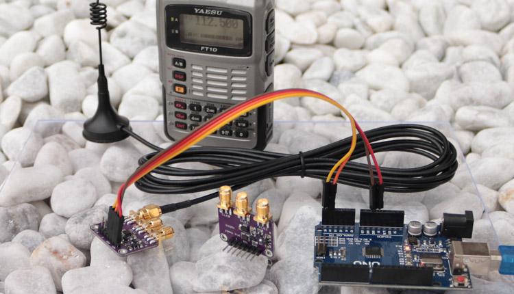 Arduino SI5351 Taktgenerator und Frequenzgenerator
