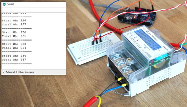 Arduino Smartmeter S0 Watt Counter