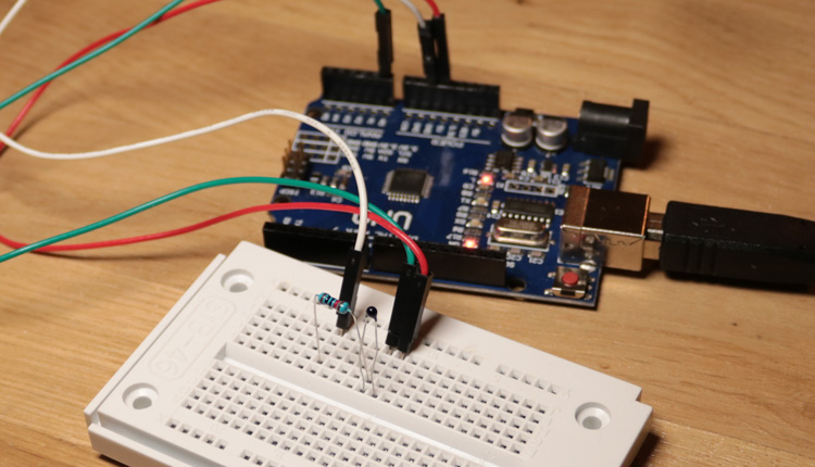 Arduino read analog ntc resistor