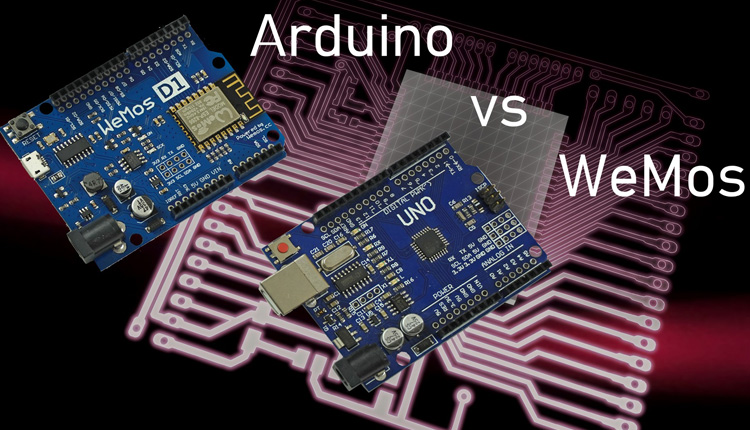 Arduino vs WeMos D1 r2