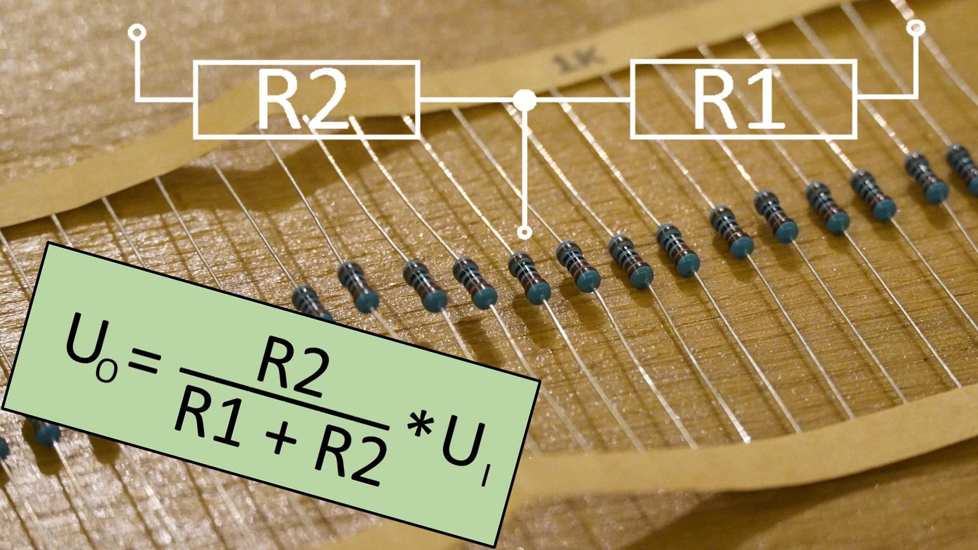 Spannungsteiler berechnen für Mikrocontroller