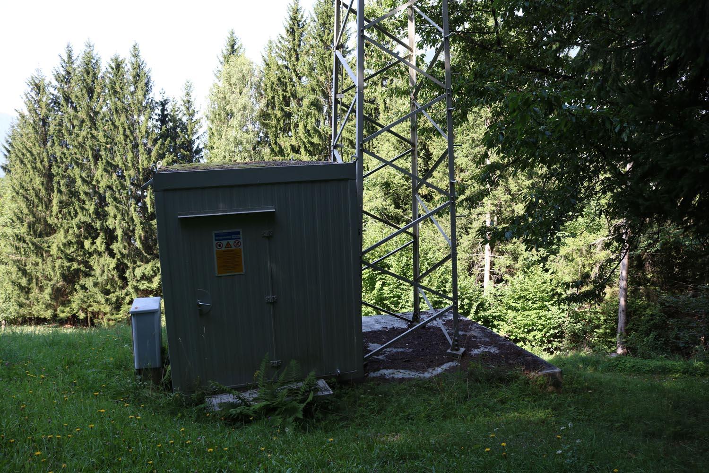 Analog-TV Sender Siflitzberg - Kleblach Lind - Container