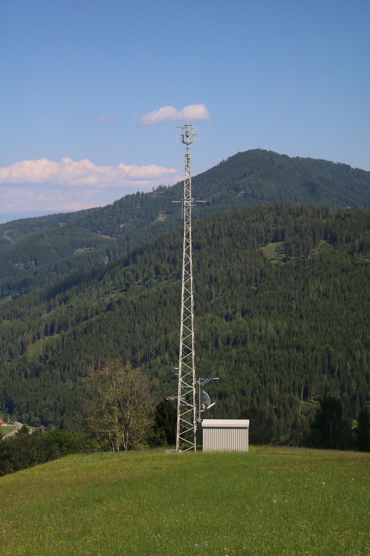 Sender Metnitz West - Radio - Mast