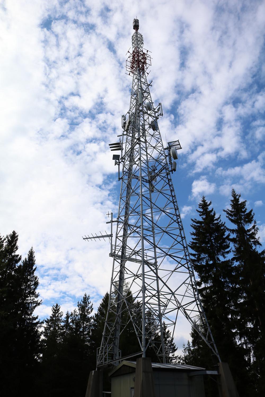 Sender Zammelsberg Weitensfeld - Mast