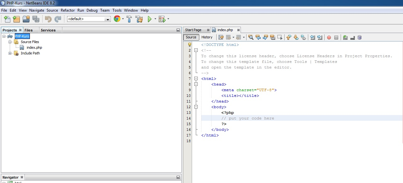 NetBeans IDE Index