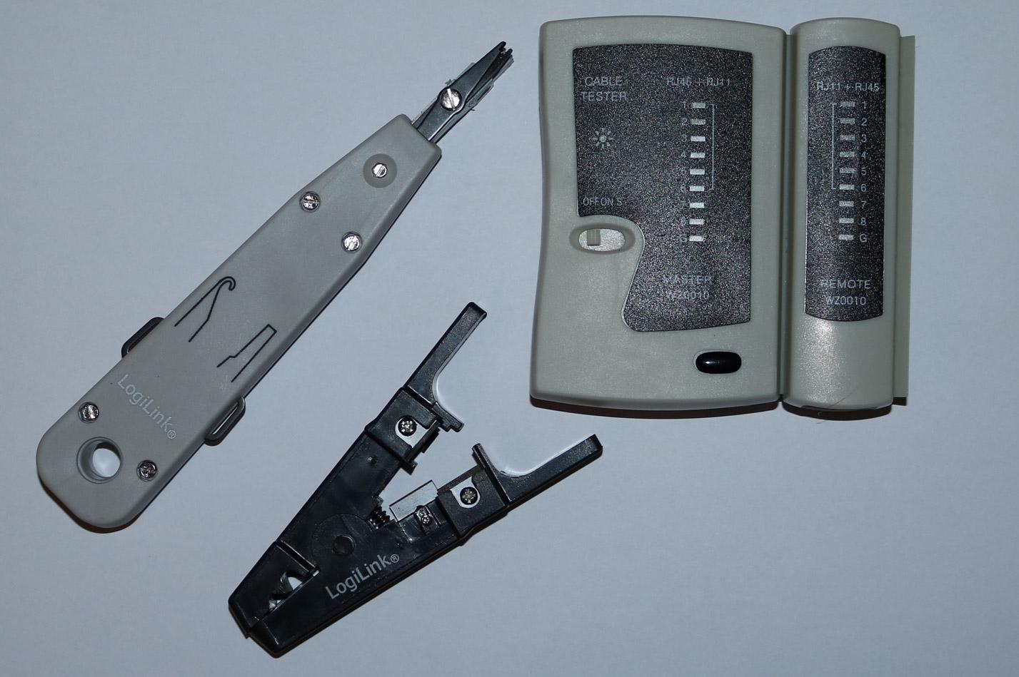 CAT6 Werkzeug LSA und Crimper