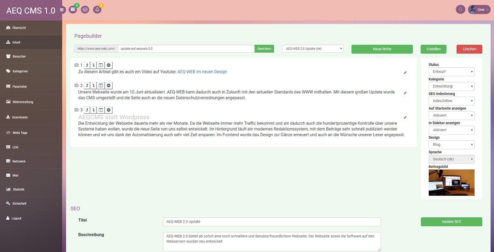 AEQ-WEB Backend