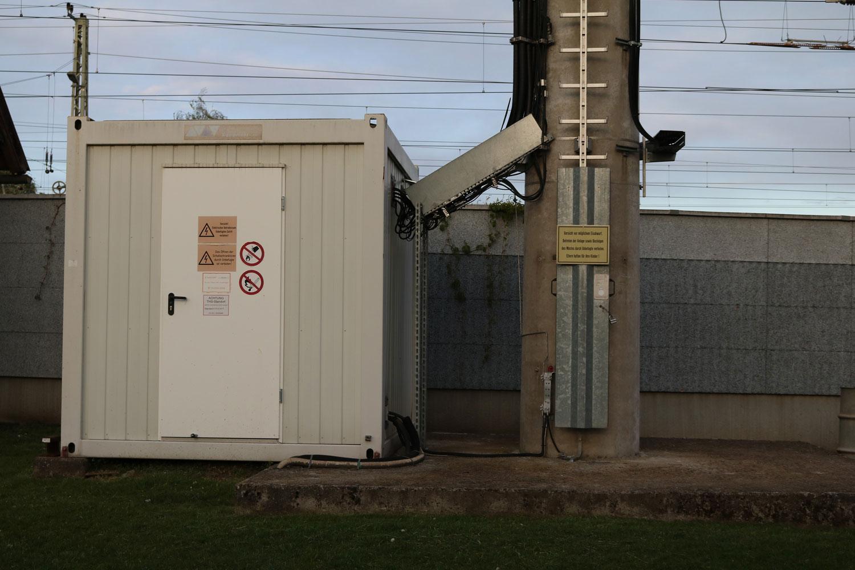 DVB-T und Radio Sender St. Veit Bahnhof - Container