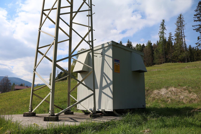 DVB-T Umsetzer Sirnitz - Deutsch Griffen - Container