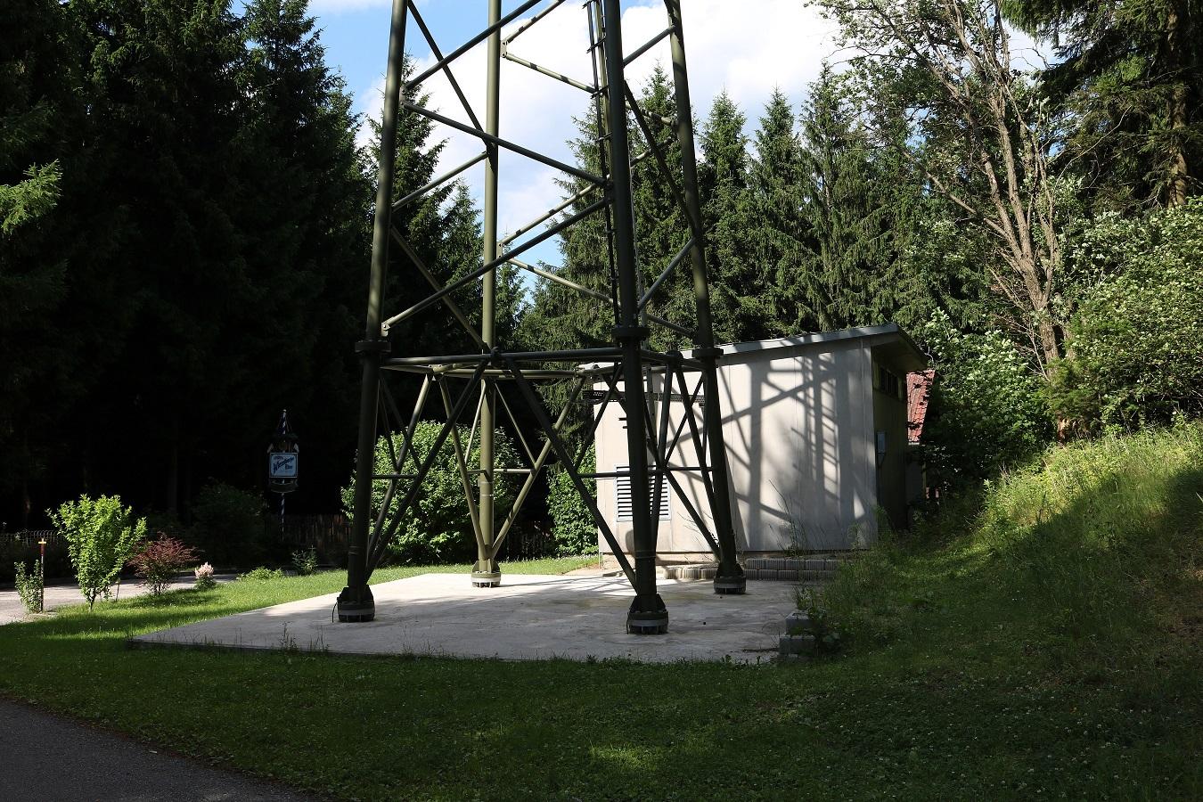 DVB-T2 und Radiosender Aspang am Königsberg Container