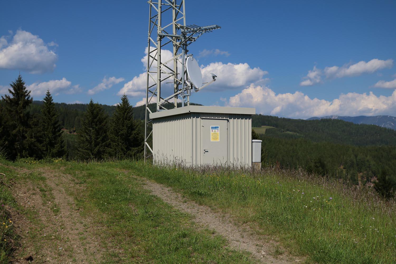 Sender Metnitz West - Radio - Zufahrt