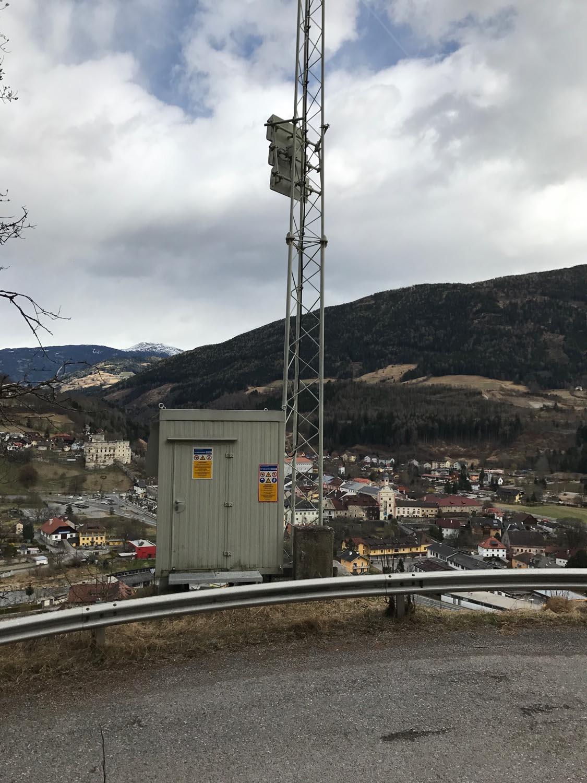 Analog-TV Sender Gmünd 2 - Kärnten - Container