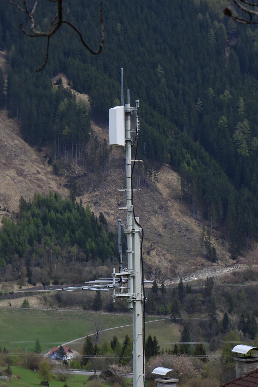 Sender Mallnitz Obervellach - Mast