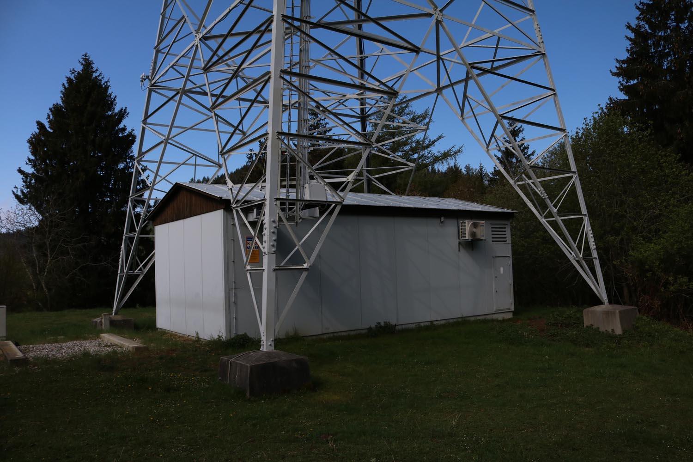 DVB-T und Radio Sender Brückel Lippekogel - unten