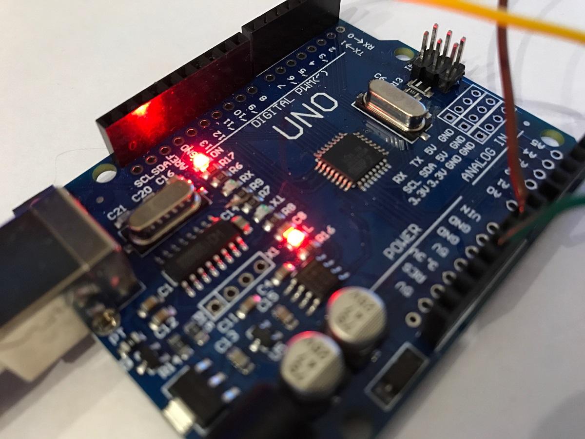 BH1750 Luxmeter Arduino