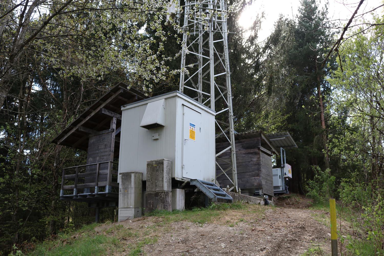 Sender Himmelberg bei Feldkirchen in Kärnten - Container