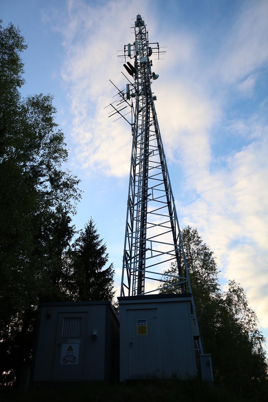 Sender Pöckstein Althofen - Mast