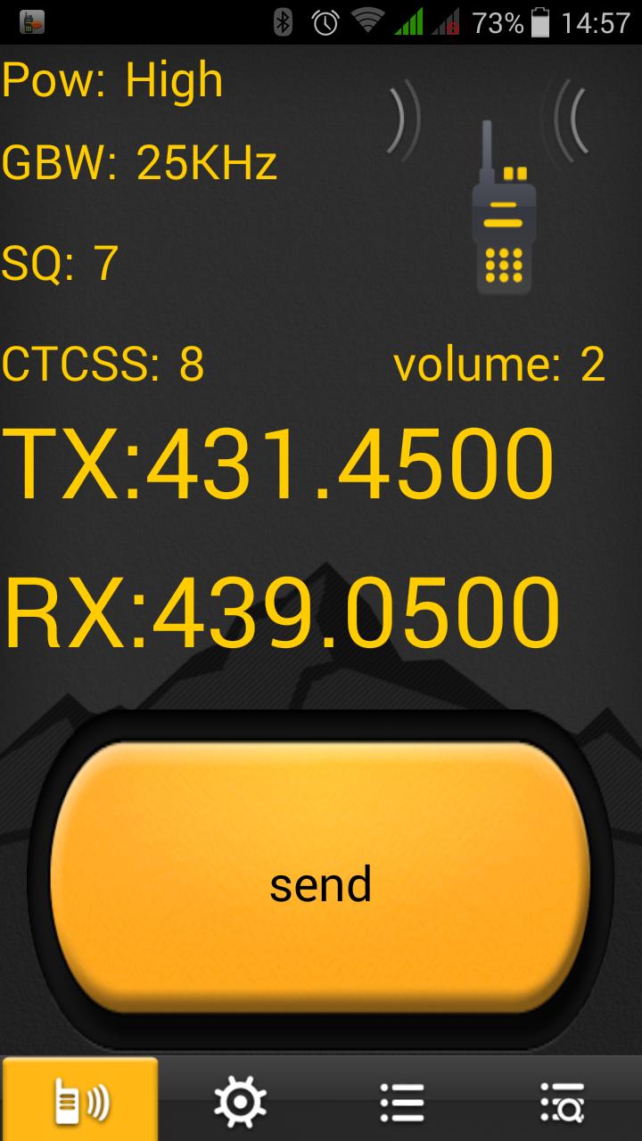 Digoor DG2 Plus PTT App