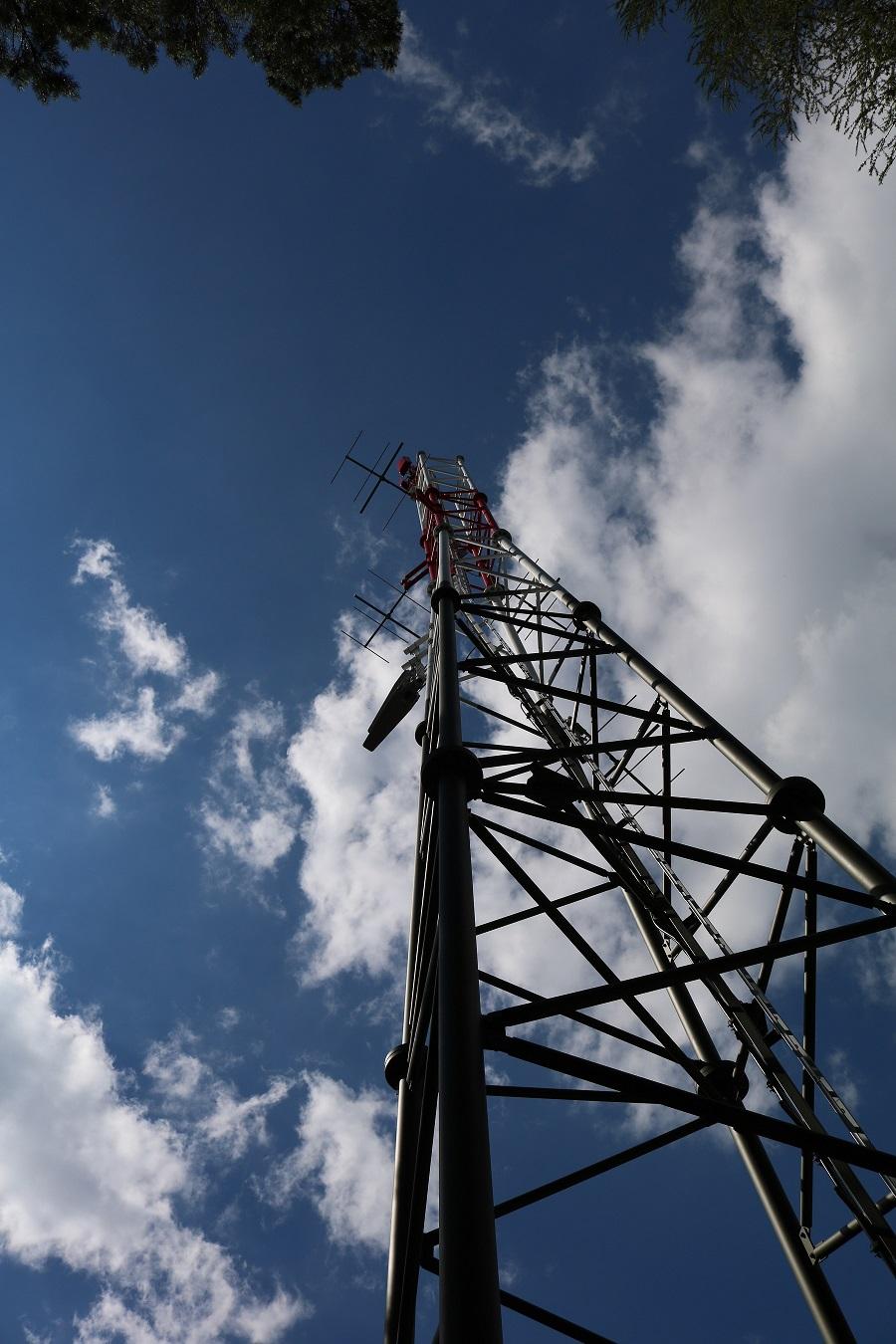 DVB-T2 und Radiosender Aspang am Königsberg Mast