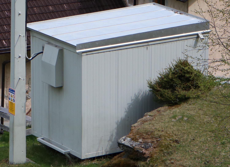Sender Mallnitz Obervellach - Container