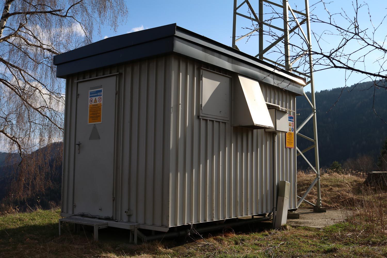 Radiosender Verditz bei Treffen - Container