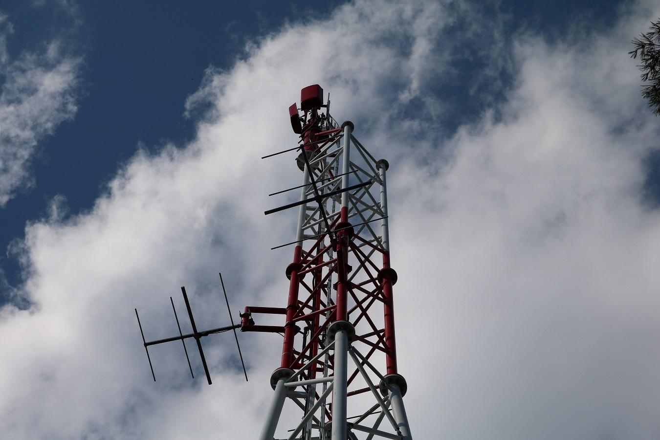DVB-T2 und Radiosender Aspang am Königsberg Antennen