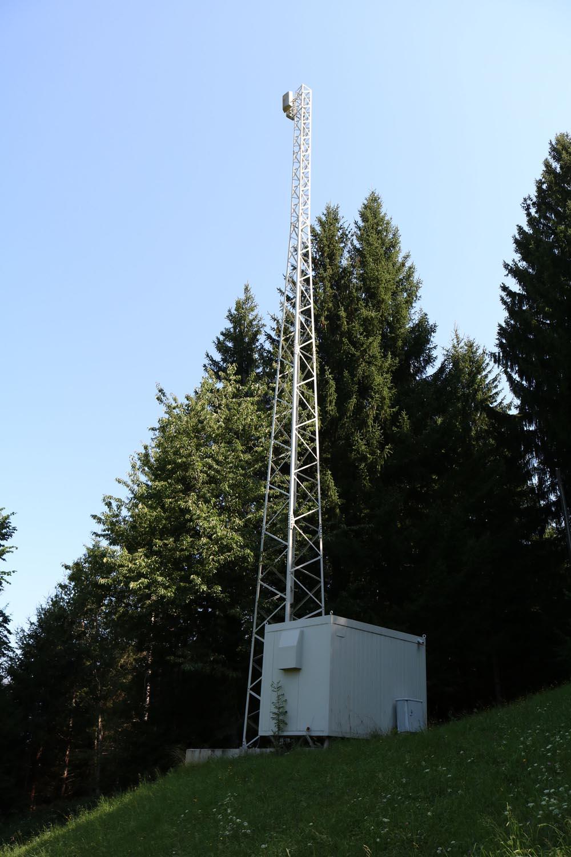 Analog-TV Sender Siflitzberg - Kleblach Lind - Antennen