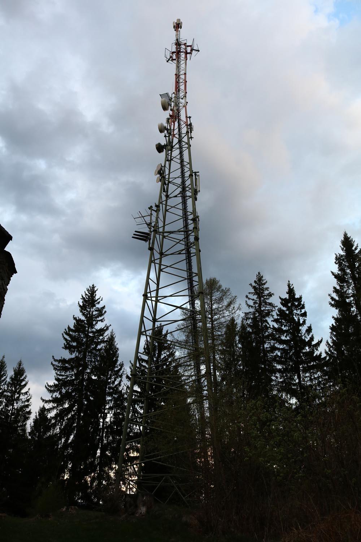 DVB-T und Radiosender Wachsenberg bei Feldkirchen - Mast