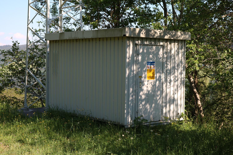 Sender Metnitz OST - Container