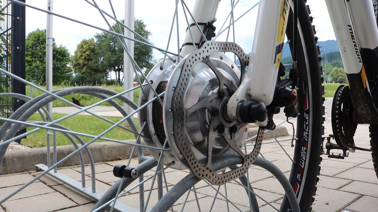 E-Bike Umbausatz Elektro Frontmotor
