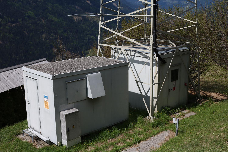 Sender Pfaffenberg Obervellach - Container
