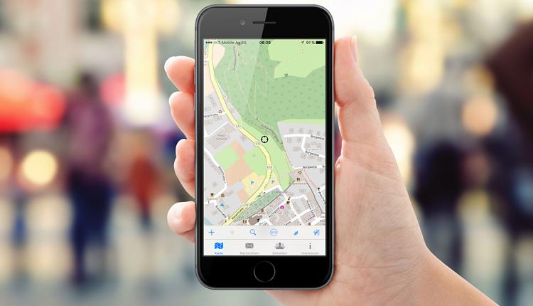 Taranis Karten App iOS
