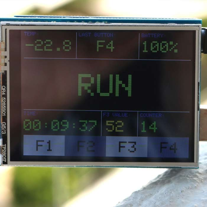 Arduino LCD Interface
