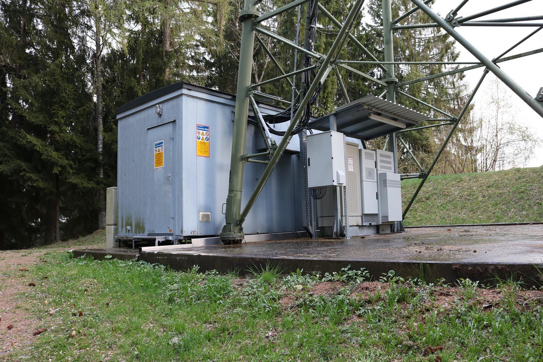 DVB-T und Radiosender Wachsenberg bei Feldkirchen - Sendehaus