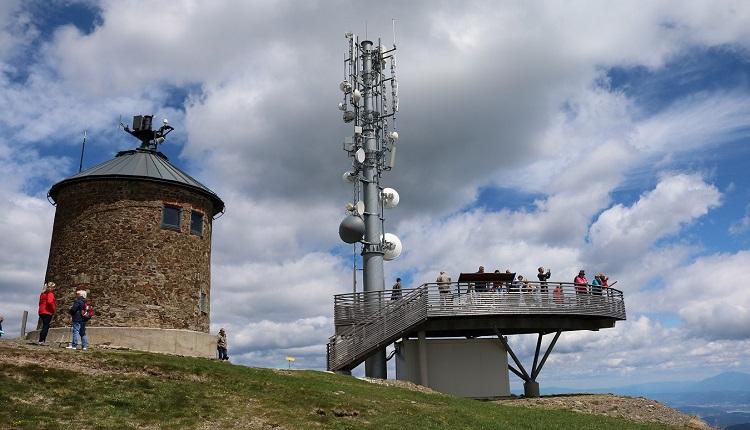 DVB-T Sender Gerlitzen über Villach